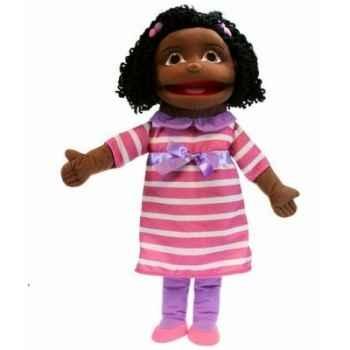 Medium fille (peau foncée) the puppet company -pc002053