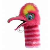 oiseau fizzle rose the puppet company pc006303