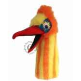 oiseau muddle orange jaune the puppet company pc006306