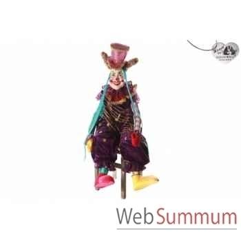 Poupée toby le clown 133cm -B 31485