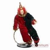 poupee clown sur un cerceau 635cm z 20911
