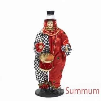 Clown avec tambour debout 46cm -Z 20910