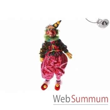 Poupée clown de cirque 50cm -C 10355