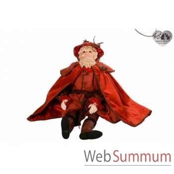 Santa poupée 72cm -B 31639