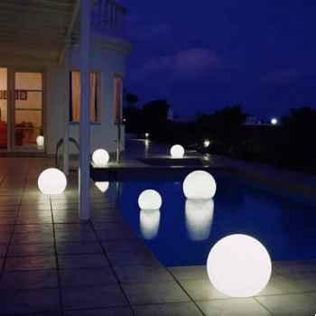 Lampe demi-lune blanche sur batterie Moonlight -bhmfl550150