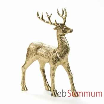 Statue cerf 32cm -A 59563