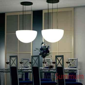 Lampe demi-lune blanche à suspendre Moonlight -mshr750115