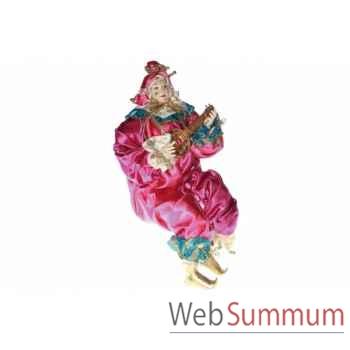 Jester statue avec guitare 63,5cm -Z 21404