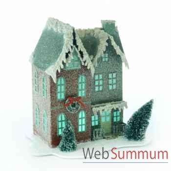 Décoration de noël maison a led 25cm -TR 10361