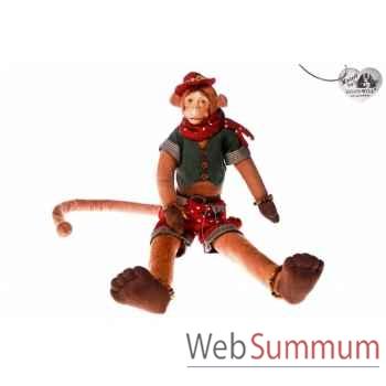 Poupée singe 60cm -C 10400