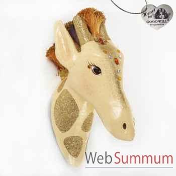 Tête de girafe 41cm -B 30576