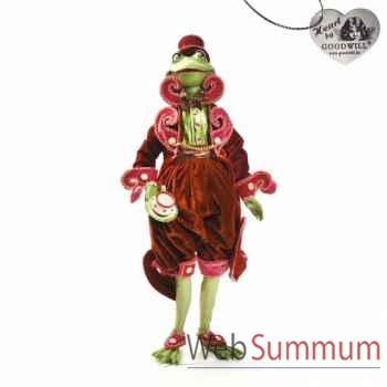 Tea time grenouille statuette 60cm -C 12129