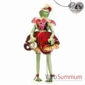 tea time grenouille statuette 60cm c 12128