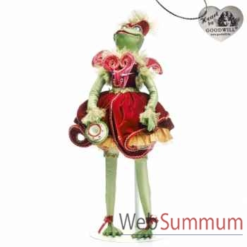 Tea time grenouille statuette 60cm -C 12128