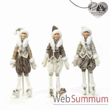 Lot de poupée lutin 35cm -C 12173