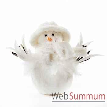 Bonhomme de neige 25cm -T 71241