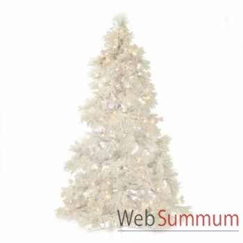 Sapin de noël blanc 225cm -AL 22385