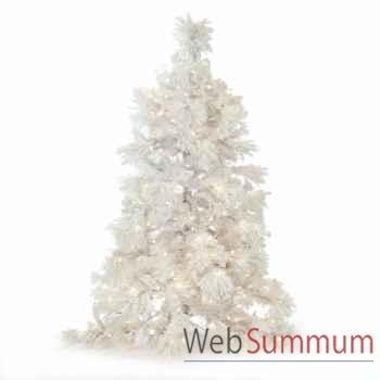 Sapin de noël blanc 225cm -AL 22379