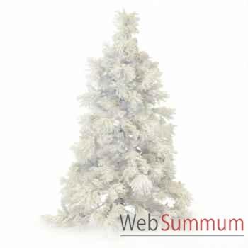 Sapin de noël blanc 225cm -AL 22380