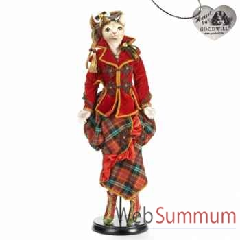 Statue chat britain 64cm -J 68033
