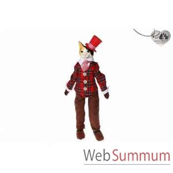Statue chat britain 50cm -C 10346