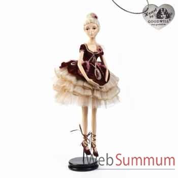 Statuette ballerine debout 66cm -B 30353