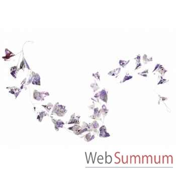 Guirlande de noël fleur 183cm -A 60058