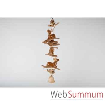 Carillion souris en céramique 61cm -MC 13109