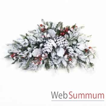 Branche de noël décorative 66cm -M 17611