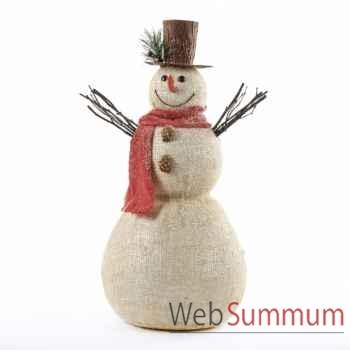 Statue bonhomme de neige 51cm -MC 34228