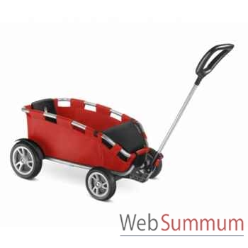 Porteur chariot argent-rouge h25 ceety Puky -6703