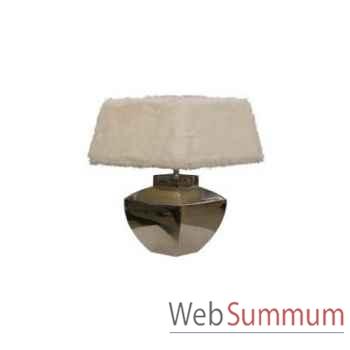 Lampe de table square savino Kingsbridge -LG2004-79-80