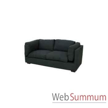 Sofa cooper navy 2.5 seats 195x90xh.74cm Kingsbridge -SC2000- 57-12