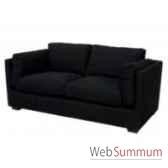 sofa cooper black 25 seats 195x90xh74cm kingsbridge sc2003 33 12