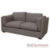 sofa cooper taupe 25 seats 195x90xh74cm kingsbridge sc2000 56 12