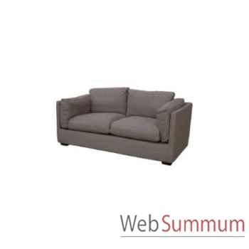 Sofa cooper taupe 2.5 seats 195x90xh.74cm Kingsbridge -SC2000-56-12