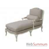 chaise longue ecru 72x140xh100cm kingsbridge sc2000 58 12
