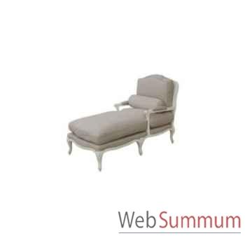 Chaise longue ecru 72x140xh.100cm Kingsbridge -SC2000-58-12