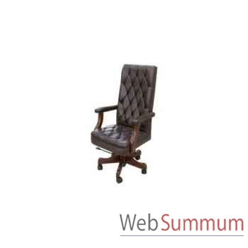 Chaise de bureau colonel 70x70xh.120cm Kingsbridge -SC2000-81-15