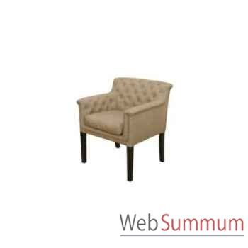 Chaise tiffany sand 68x63xh.80cm Kingsbridge -SC2004-01-65