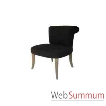 Chaise soho black 60x55xh.90cm Kingsbridge -SC2004-04-65