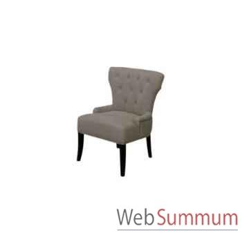 Chaise delano ecru 62x53xh.76cm Kingsbridge -SC2003-56-13