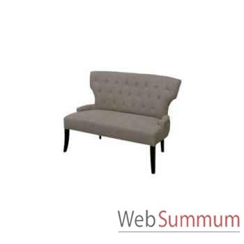 Sofa delano ecru 118x72xh.84cm Kingsbridge -SC2003-58-13