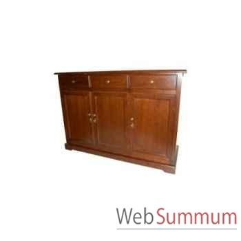 Dress cabinet lorenzo 3 doors 150x50xh.90cm Kingsbridge -CA2000-09-11