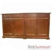 dress cabinet lorenzo 4 doors 210x50xh90 kingsbridge ca2000 11 11