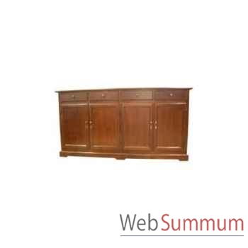 Dress cabinet lorenzo 4 doors 210x50xh.90 Kingsbridge -CA2000-11-11