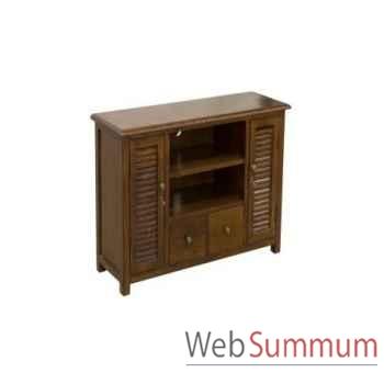 Cabinet tv stand small 100x35xh.62cm Kingsbridge -CA2000-27-11