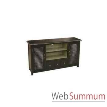 Cabinet tv stand big 132x35xh.62cm Kingsbridge -CA2000-24-11