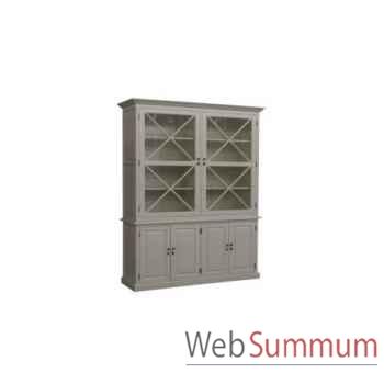 Cabinet cross white 166x51xh.240cm Kingsbridge -CA2005-30-63