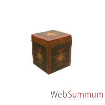 Boite cube 1 killim 45x45cm Kingsbridge -SM2001-12-54